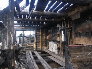 В августе 2012 г. у Павла Мытько полностью сгорел дом